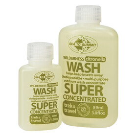 Sea to Summit Wilderness Wash - with Citronella 40ml transparente